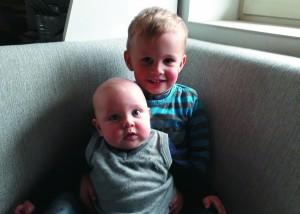 Hannes mit Emil