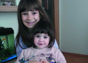 Sonja mit Maria