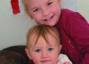 Hanna mit Sofie