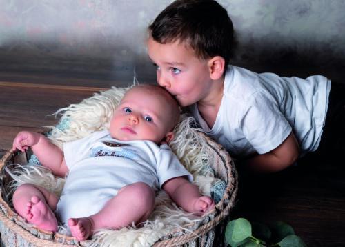 Jonas mit Gabriel